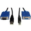 Tripp Lite P758-010 USB Cable Kit for KVM Switch B006-004-R - 10 Foot