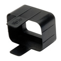 Tripp Lite PLC19BK Plug-lock Inserts keep C20 power cords solidly connected to C19 outlets BLACK color Package of 100
