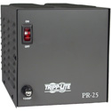 Tripp Lite PR25 TAA-Compliant 25-Amp DC Power Supply 13.8VDC Precision Regulated AC-to-DC Conversion