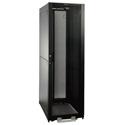 Tripp Lite SR2400 42U Rack Enclosure Server Cabinet Doors & Sides 2400lb Capacity