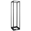 Tripp Lite SR4POST 45U 4-Post Open Frame Rack Cabinet Square Holes 1000lb Cap.