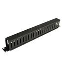 Tripp Lite SRCABLEDUCT1U Rack Enclosure Horizontal Cable Manager (finger duct) 1URM