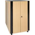 Tripp Lite SRQ24U 24U Soundproof Rack Enclosure Server Cabinet - Quiet Acoustic