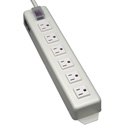 Tripp Lite TLM615NCRA Power It Power Strip with 6 Right Angle Outlets 15 Foot Cord Transparent Switch Cover