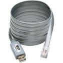 Tripp Lite U209-006-RJ45-X USB to RJ45 Cisco Serial Rollover Cable USB Type-A to RJ45 M/M 6 Feet