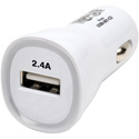 Tripp Lite U280-001-C2 USB Tablet / Phone Car Charger 5V 2.4A / 12W