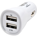 Tripp Lite U280-002-C12 Dual USB Tablet / Phone Car Charger 5V 3.1A / 15.5W