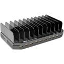 Tripp Lite U280-010-ST 10-Port USB Charging Station with Adjustable Storage - 12V 8A / 96W USB Charger Output