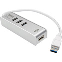 Tripp Lite U360-003-KM 3-Port Portable USB 3.0 SuperSpeed Hub with Keyboard/Mouse Sharing and File Transfer