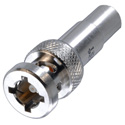 Trompeter PL455ACFLP-221 1553 Twinax Pin Contact Full Crimp 3-Lug Bayonet Straight for 10614 Cable