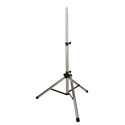 Ultimate Support TS-80S Aluminum Tripod Speaker Stand with Integrated Speaker Adapter - Silver