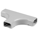 HellermannTyton TSR2W-21-1 1.25 Inch Tee Cover 1 In Bend Radius White 10 Pack