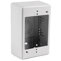HellermannTyton TSRW-JB2 Single Gang Junction Box 2 Inch Deep White