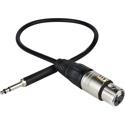 Photo of Sescom TT/XF-3 Patch Cable Bantam TT Male to 3-Pin XLR Female Patchadap - 3 Foot