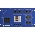 Theatrixx SD120A Electrical Power Distribution System 100A 120/208V 3 Main Breaker on CAM In/Thru 4x30A