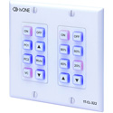 tvONE 1T-CL-322-US North American 16 Button 2-Gang Wall Mounted Control Panel