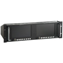 tvONE LM-702HDA HDTV Dual 7-Inch Rackmount Color LCD Monitor with Audio