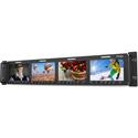 TVLogic RKM-443A 3G-SDI Multi-Channel Quad LCD Rack Monitor 2RU