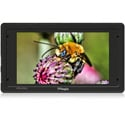 TV Logic VFM-055A 5.5 Inch 1920x1080 OLED Viewfinder Monitor with Cast-Aluminum Body 3G HD-SDI In/Out HDMI In/Out
