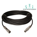 Laird TX-1857AMF-50 Belden 1857A RG59 & Kings Tri-Loc Male to Female Triax Cable - 50 Foot