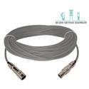 Laird TX-1859A-50 Belden 1859A Plenum RG11/U & Kings Tri-Loc Male to Female Triax Cable - 50 Foot