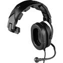 RTS HR-1R Single Sided Full Cushion Medium Weight Headset with 4-Pin Male XLR