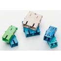HellermannTyton FASCSM Adapter - SC Simplex UPC- Singlemode - No Flange - Blue