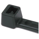 Hellermann Tyton T40R0M4 8.3 Inch Black Nylon Cable Ties (40 Pounds Tensile Strength - 1000 Pack