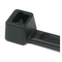 Photo of HellermannTyton T50S0M4 6.3 Inch Black Nylon Cable Ties (50 Pounds Tensile Strength) - 1000 Pack