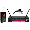 Nady UHF-4 Diversity Wireless System with Omni Lav Mic (944.200 MHz)