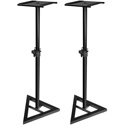 Ultimate Support JamStands JS-MS70 Adjustable Studio Monitor Stand (Pair) - Black