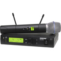 Shure Handheld Wireless Mic System with Beta 87A - J1 (554.025-589.975 MHz)