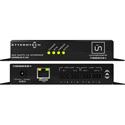 Attero Tech unDIO2x2plus-U 2x2 Channel Mic/Line I/O Interface - PoE or 24VDC - UDP Control