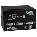 NTI UNIMUX-DVI-2 2-Port DVI USB KVM Switch