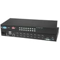 NTI UNIMUX-DVI-32HD High Density USB DVI KVM Switch - 32 Port