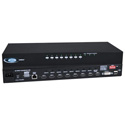 NTI UNIMUX-DVI-8HD 8-Port High Density DVI USB KVM Switch