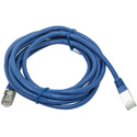 Cat6A Ethernet Network Patch Cable - 10 Feet - Blue