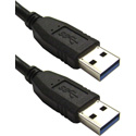Connectronics USB 3.0 Cable A Male to A Male - 6 Foot