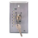 Middle Atlantic USC-KL Remote Wallplate Keyswitch w/LED Status Indicators