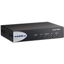 Vaddio 999-60320-000 EasyIP Mixer System Global - 4 Video Feeds - USB3.0 /  HDMI - 4x4 Dante Audio Matrix