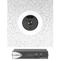 Vaddio 999-9968-300 DocCAM 20 HDBT Ceiling Mounted OneLINK Bridge System PTZ Camera - 20x Zoom