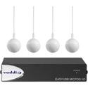 Vaddio 999-88100-000 EasyUSB MicPOD I/O with Four CeilingMICs