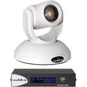 Vaddio 999-9950-100W RoboSHOT 20 UHD OneLINK HDMI System - Ultra HD PTZ Camera - White