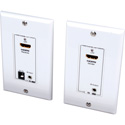 Vanco 280725 HDMI Wall Plate Extender over 2 UTP Cables with IR Control - 164 Feet/50m
