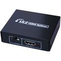 Vanco 280902 HDMI 1x2 Splitter Economy - 1920x1080p - HDMI 1.3 & HDCP 1.0/1.1/1.2 - 3D and DTS/Dolby Digital