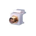 Vanco 820482 F81 Keystone Insert- 1 GHz- Nickel - Ivory