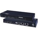 Vanco EVSP1013 1x3 Plus 1 HDMI Output Splitter over Single CAT5e/CAT6 Cable PoE 165ft/50m (Receiver Part: EVRX2006)