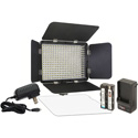 Vidpro LED-330X 330 LED Varicolor Ultra-Portable Light Kit with Battery Charger and Adapter - Li-Ion