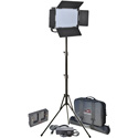 Vidpro 604 LED VARICOLOR Video Light Kit with Stand - Case and Power Supply (V-mount)