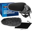 Vidpro XM-50 Professional On-Camera Condenser Shotgun Video Microphone
